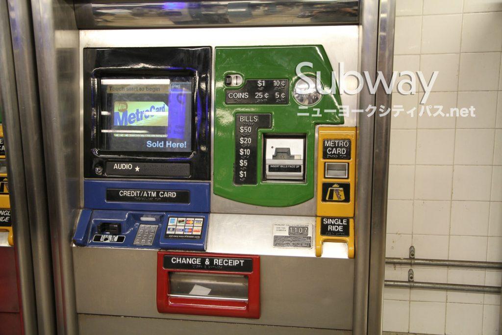 ニューヨーク 地下鉄 チャージ