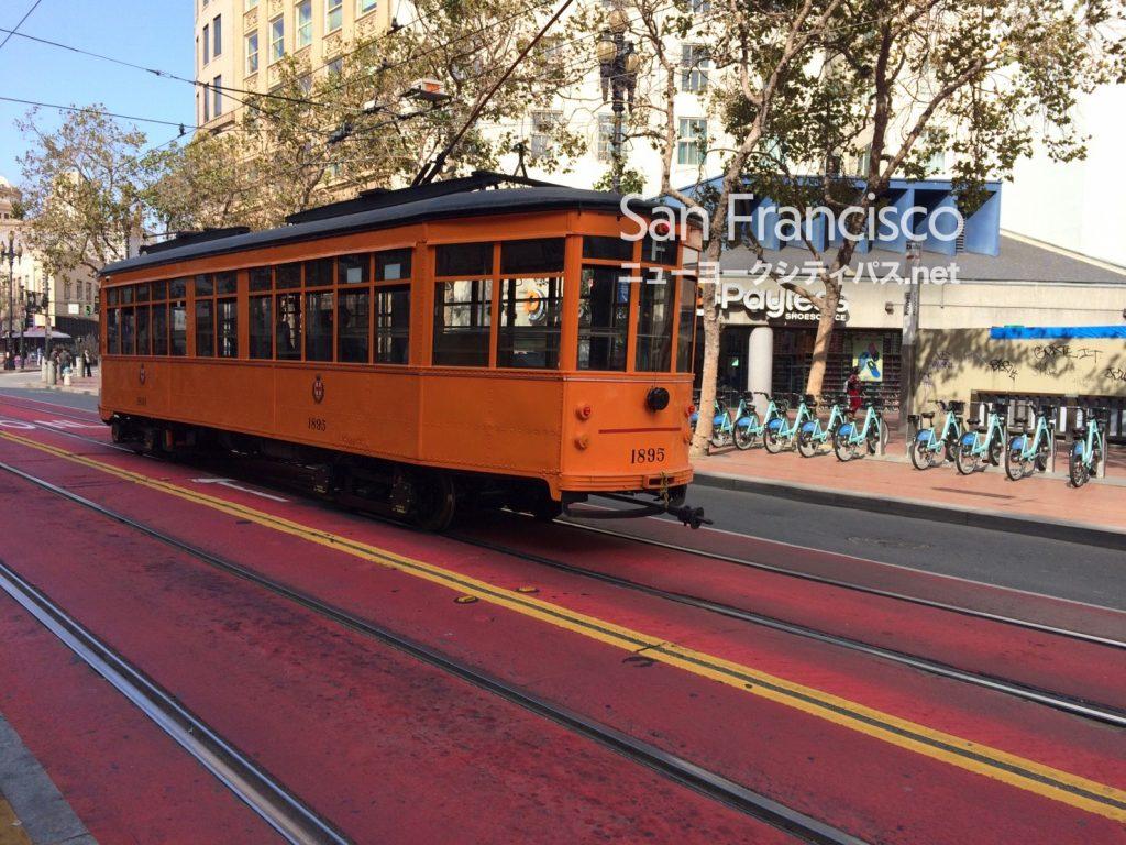 サンフランシスコ 路面電車