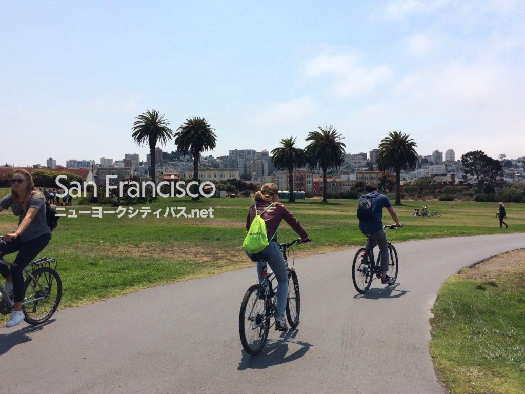 サンフランシスコ サイクリング